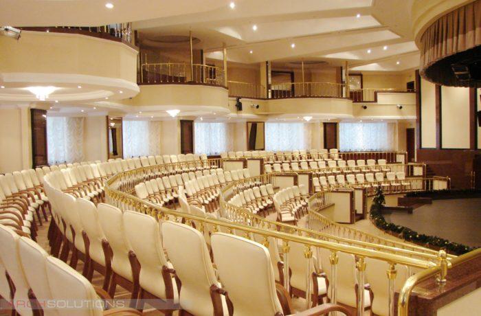 Мебель для зрительных и конференц-залов